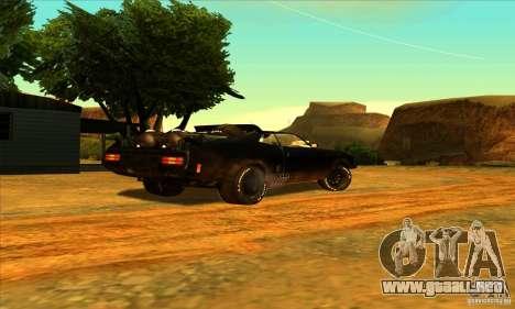 Ford Falcon 351 GT (XB) para GTA San Andreas vista hacia atrás
