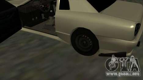 Elegy Roportuance para visión interna GTA San Andreas