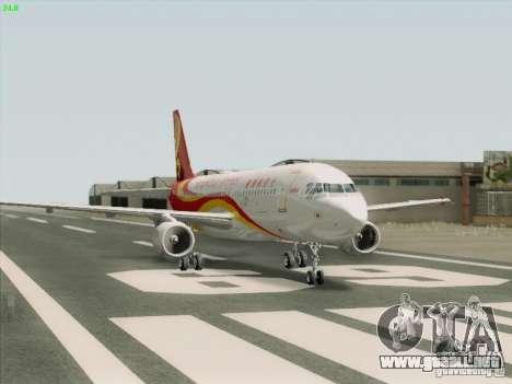 Airbus A320-214 Hong Kong Airlines para la visión correcta GTA San Andreas