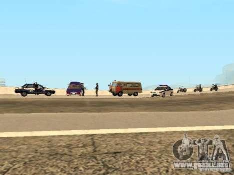 Un accidente en el puente Garver para GTA San Andreas tercera pantalla