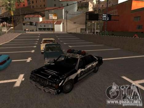Police VC para GTA San Andreas vista hacia atrás