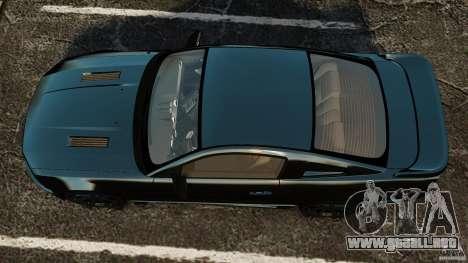 Saleen S281 Extreme Unmarked Police v1.5 para GTA 4 visión correcta