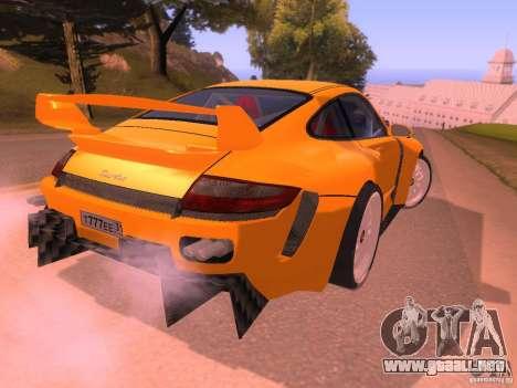 Porsche 911 Turbo Tuning para la visión correcta GTA San Andreas