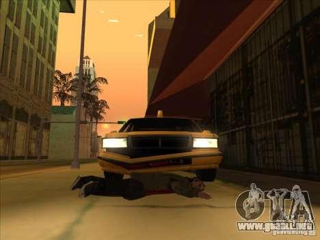 Sangre en coche v2 para GTA San Andreas tercera pantalla