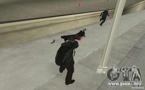 Animar el cuerpo del GTA IV para GTA San Andreas sexta pantalla