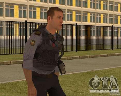 EL MINISTERIO DE ASUNTOS INTERNOS DE RUSIA para GTA San Andreas tercera pantalla