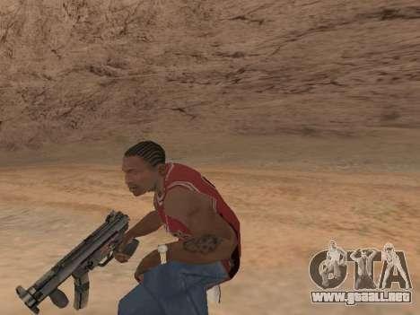 MP5K para GTA San Andreas sexta pantalla