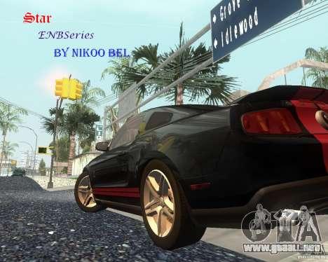Star ENBSeries by Nikoo Bel para GTA San Andreas