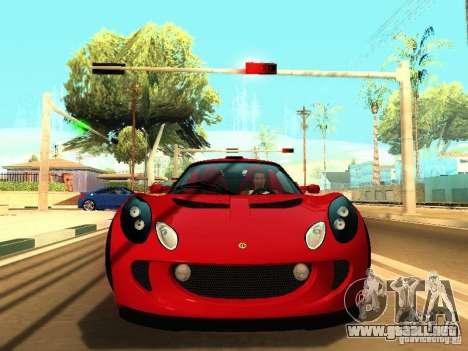 Lotus Exige 240R para GTA San Andreas left