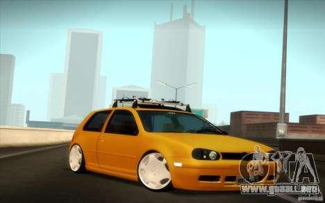 Volkswagen Golf para la visión correcta GTA San Andreas