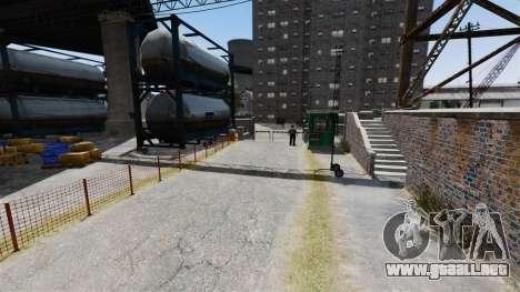 La pista en el estilo de Gymkhana para GTA 4 segundos de pantalla