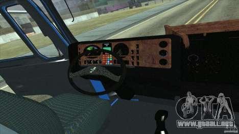 Man F2000 para la visión correcta GTA San Andreas