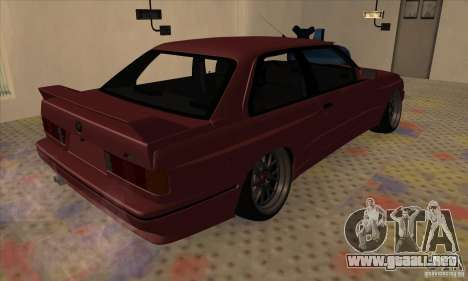 BMW M3 E30 1990 para la visión correcta GTA San Andreas