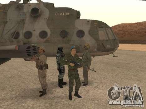 Spetsnaz VDV para GTA San Andreas tercera pantalla