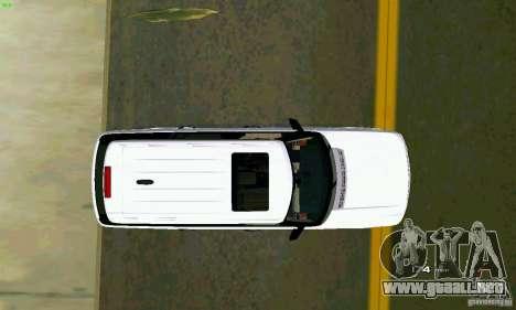 Land Rover Range Rover Supercharged 2008 para GTA Vice City vista posterior