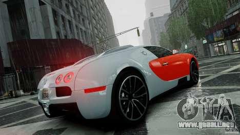 Bugatti Veyron 16.4 v1.0 wheel 1 para GTA 4 vista superior