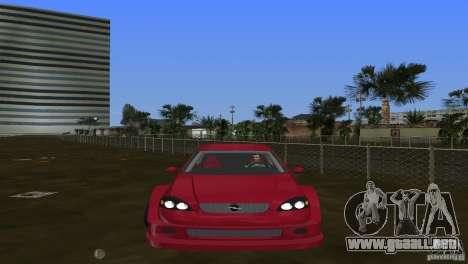 Opel Astra DTM para GTA Vice City vista lateral izquierdo