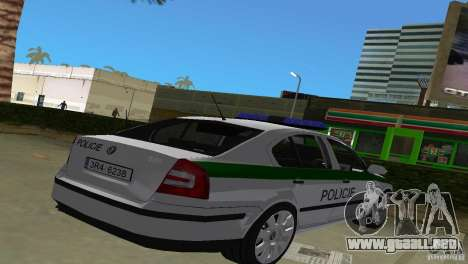 Skoda Octavia 2005 para GTA Vice City left