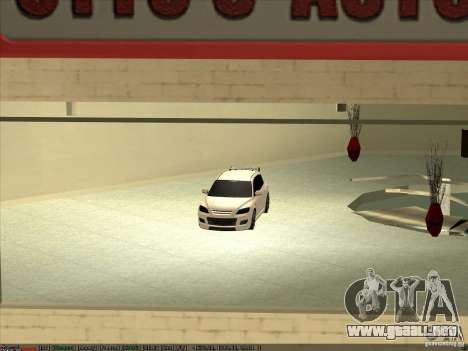 Mazda Speed 3 Stance v.2 para la visión correcta GTA San Andreas