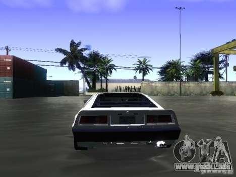 Lotus Esprit Turbo para visión interna GTA San Andreas