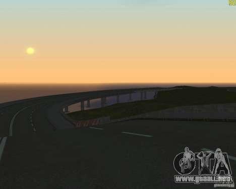 Terminada la construcción de la carretera a Rusi para GTA San Andreas tercera pantalla