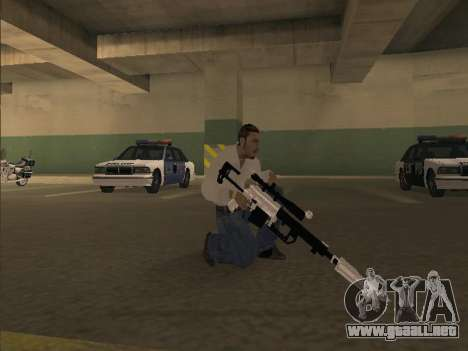 Chrome Weapons Pack para GTA San Andreas sucesivamente de pantalla