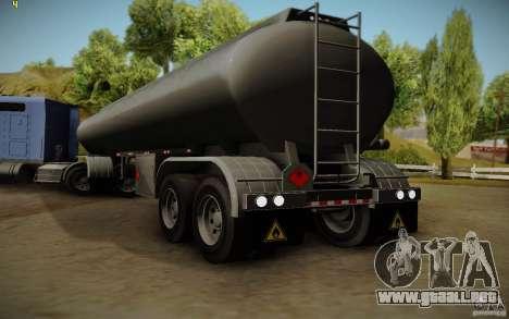 Caravana de cuero crudo de Mack Pinnacle Edition para GTA San Andreas left