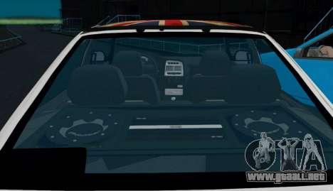 VAZ-2112 Coupe para la visión correcta GTA San Andreas