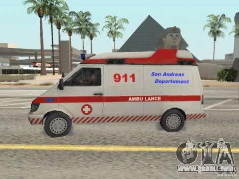 Ford Transit Ambulance para GTA San Andreas left