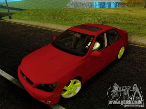 Lexus IS300 Edit para GTA San Andreas