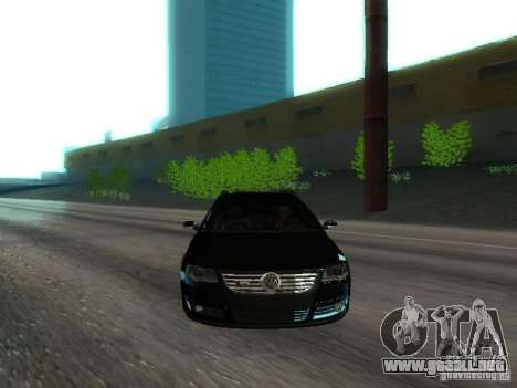 Volkswagen Passat B6 Variant Com Bentley 20 Fixa para la vista superior GTA San Andreas