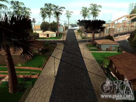 La nueva calle Grove para GTA San Andreas segunda pantalla