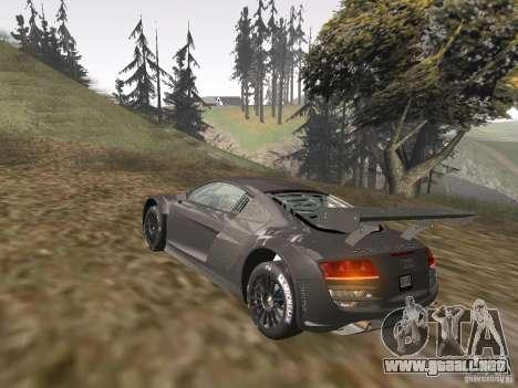 Audi R8 LMS v3.0 para visión interna GTA San Andreas