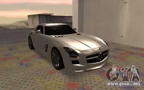 Mercedes-Benz SLS AMG 2010 para GTA San Andreas