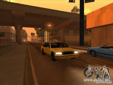 Sangre en coche v2 para GTA San Andreas segunda pantalla
