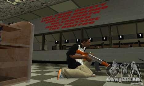 La nueva AK-47 para GTA San Andreas tercera pantalla
