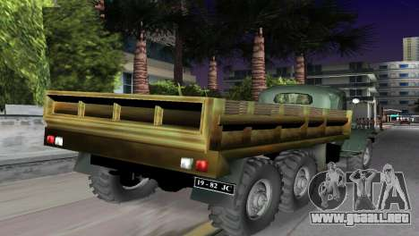 ZIL-157 para GTA Vice City left