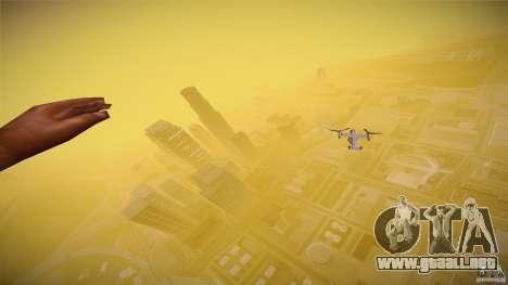 First Person Mod v2 para GTA San Andreas