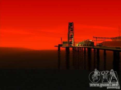 ENBSeries v1.0 para GTA San Andreas octavo de pantalla
