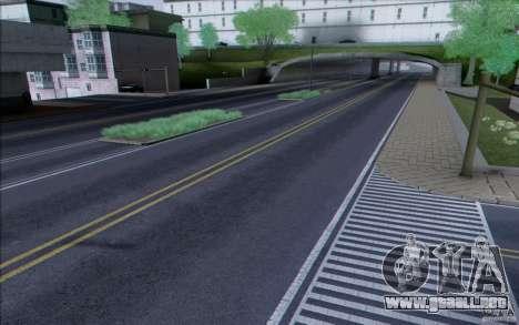 Carretera HD v3.0 para GTA San Andreas segunda pantalla