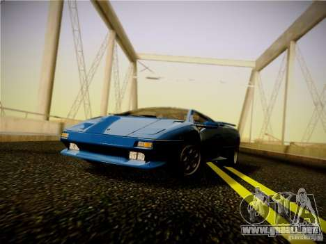 Lamborghini Diablo VT 1994 para GTA San Andreas left