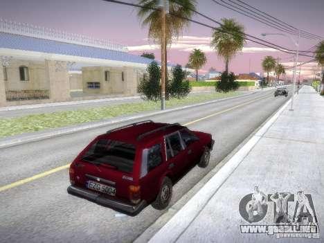 Nissan Bluebird Wagon para la visión correcta GTA San Andreas
