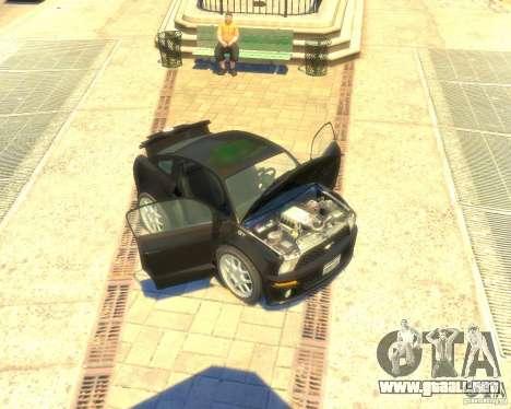 Ford Mustang Mini GT Beta para GTA 4 left