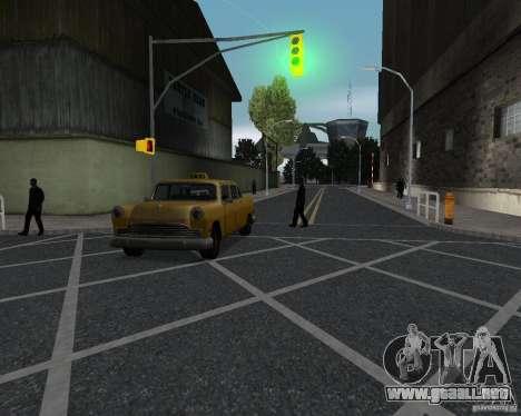 Nuevas texturas de carretera para GTA UNITED para GTA San Andreas