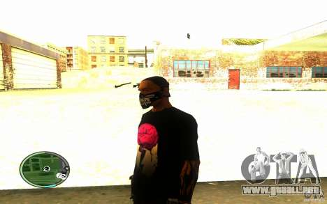 Skull Mask para GTA San Andreas segunda pantalla