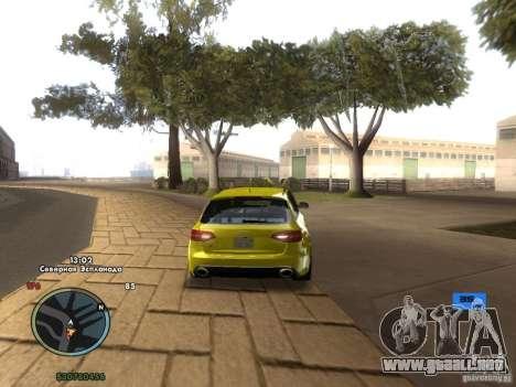 Tacómetro electrónico para GTA San Andreas sucesivamente de pantalla