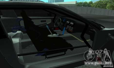 Nissan 200SX Turbo para visión interna GTA San Andreas