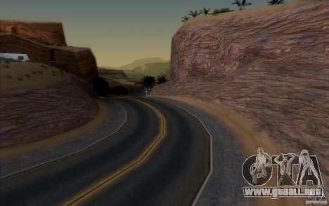 RoSA Project v1.0 para GTA San Andreas novena de pantalla