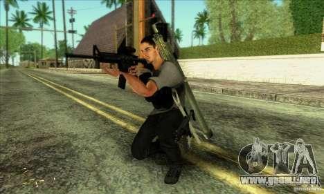 Jack Rourke para GTA San Andreas tercera pantalla
