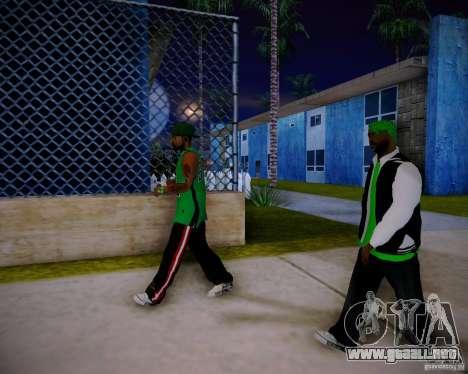 Skins pack gang Grove para GTA San Andreas séptima pantalla